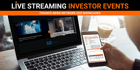Live Streaming Investor Event tickets