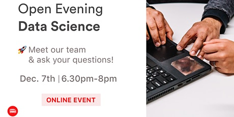 Open Evening Data Science: Discover Le Wagon's Bootcamp tickets