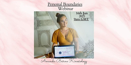 Personal Boundaries for a Healthy Lifestyle tickets