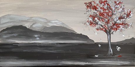 """Paint """"Winter Tree"""" 