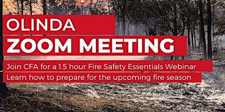 Olinda Bushfire Information Session - Fire Safety Essentials tickets