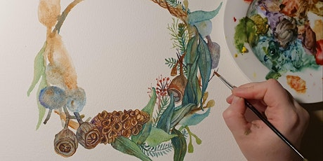 Everlasting Wreath Watercolour Workshop tickets