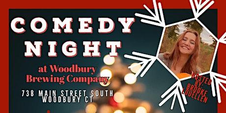 Comedy Night at Woodbury Brewing Company tickets