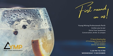 Young Mining Professionals Perth End of Year Sundowner 2020 tickets