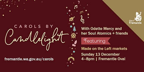Fremantle Carols by Candlelight tickets