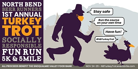 NBBR 1st Annual *Socially Responsible* Turkey Trot tickets