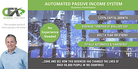 Automated Passive Income System | Business Presentation tickets