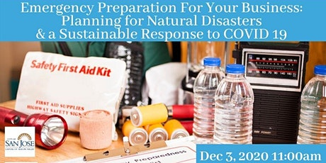 Emergency Preparedness for Natural Disasters and COVID 19 tickets