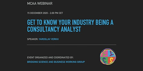 BSB Webinar: Get to know your industry being a consultancy analyst tickets
