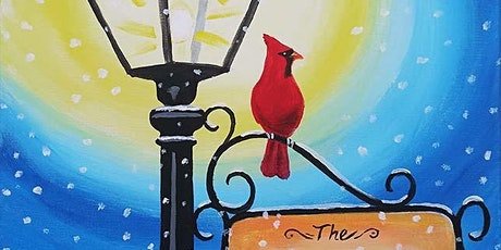 "Paint and Sip - ""Personalized Winter Lamppost"" - Thorn Brewing Co. tickets"