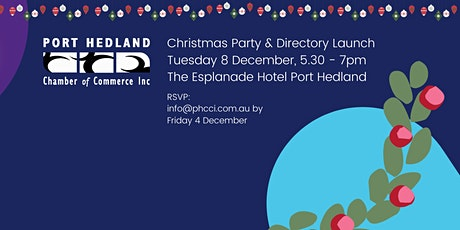 PHCCI Annual Christmas Party tickets