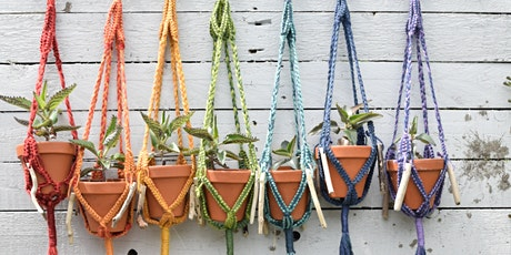 Macramé Plant Hangers - An Easter Holiday Family Activity!