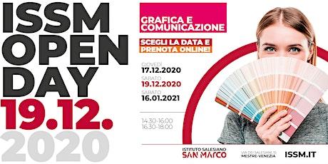 OPEN DAY / GRAFICA E COMUNICAZIONE / 19.12.2020 biglietti