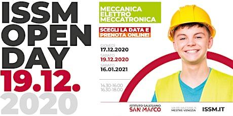 OPEN DAY / MECCANICA - ELETTRO - MECCATRONICA / 19.12.2020 biglietti