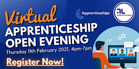 Virtual Apprenticeship Open Evening tickets