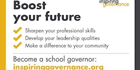 Inspiring Governance Presents - Introduction to School Governance tickets