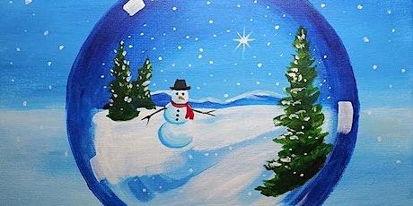 "Paint and Sip - ""Snow Globe Snowman"" - Estancia La Jolla Hotel & Spa tickets"
