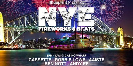 BLUEPRINT- 5 Hour NYE Boat Party- Fireworks and Beats  into 2021 tickets