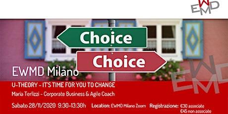 U-THEORY  | IT'S TIME FOR YOU TO CHANGE biglietti