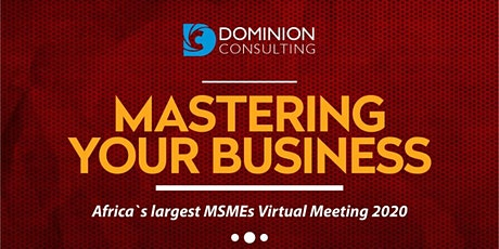 Mastering Your Business 2020.. tickets