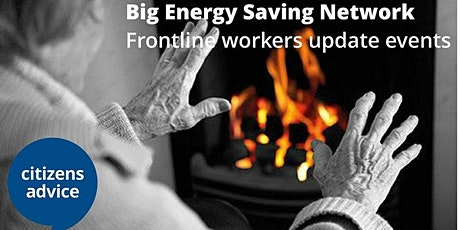 Energy Training Online from Citizens Advice 2nd December 2020 tickets