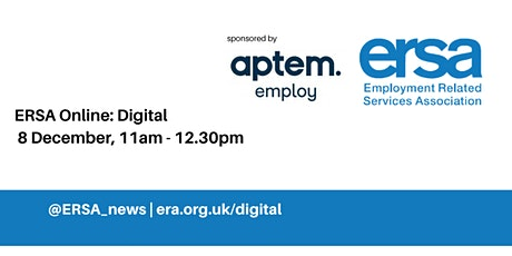 Forum: Digital - sponsored by Aptem Employ tickets