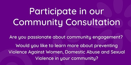 Welsh Women's Aid Community Consultation 1pm tickets