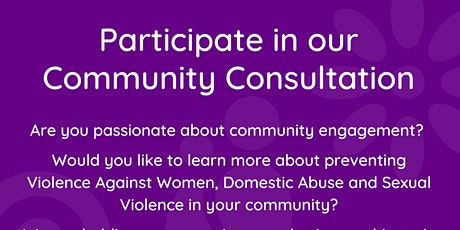 Welsh Women's Aid Community Consultation 5:30pm tickets