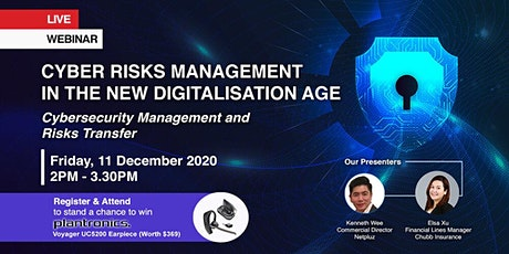 Cyber Risks Management in the New Digitalisation Age tickets