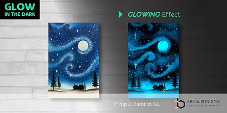 Glow Sip & Paint : Glow - Starry Christmas tickets