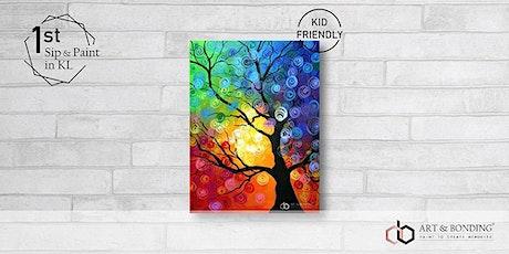 Sunday Sip & Paint : Rainbow Tree tickets