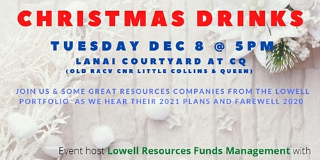 Lowell 2020 Christmas Drinks tickets