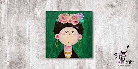 Sip & Paint MY @ Hubba Mont Kiara : Cute Little Frida tickets