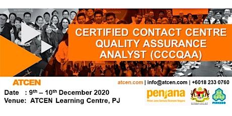 ATCEN Perkeso Penjana Kerjaya - Contact Centre Certification Programs tickets
