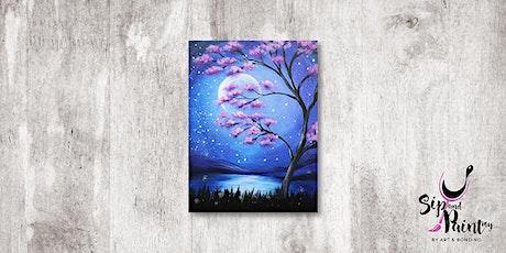 Sip & Paint MY @ Hubba Mont Kiara : Serenity Night tickets