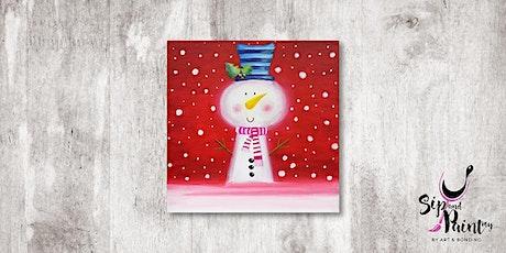 Sip & Paint MY @ Hubba Mont Kiara : The Joyful Snowman tickets