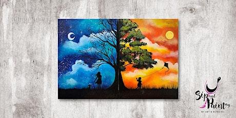 Sip & Paint MY @ Hubba Mont Kiara : Day Night Fantasy tickets