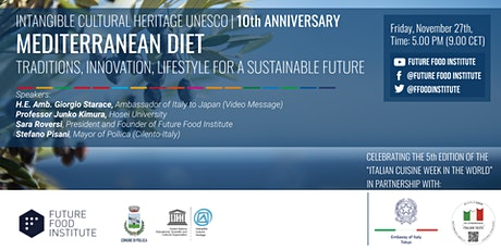 Mediterranean Diet:Tradition Innovation Lifestyle for a Sustainable Future tickets
