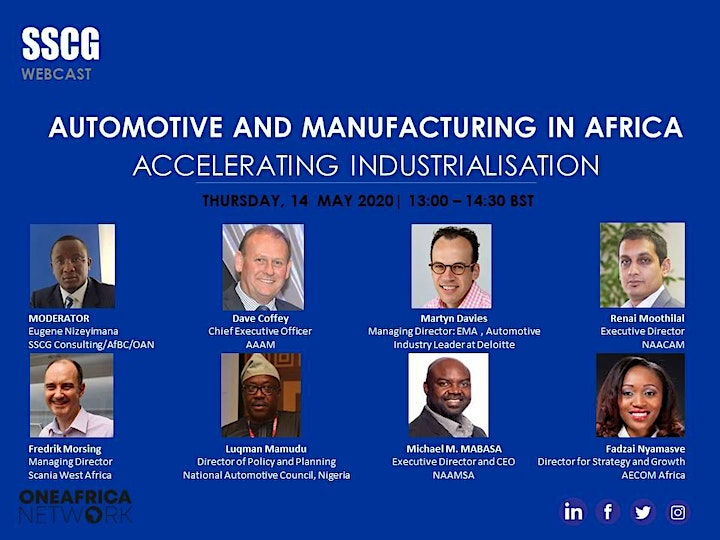 SSCG  Africa Automotive and Manufacturing (A&M) Forum image