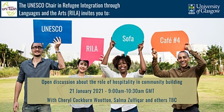 UNESCO RILA Sofa Café #4 - The role of hospitality in community building tickets
