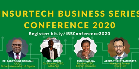 InsurTech Business Series Conference 2020 tickets
