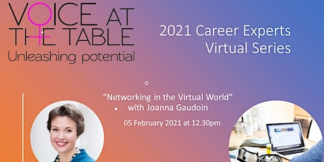 Career Experts: Networking in the Virtual World tickets