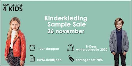 Grote B-keus Kinderkleding Wintersale | 26 november tickets