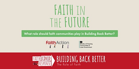Building Back Better Conference: Faith in the Future tickets