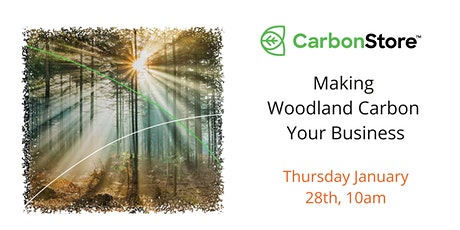 Making Woodland Carbon Your Business tickets