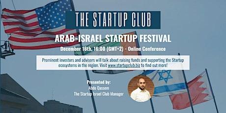 Arab-Israel Startup Festival tickets