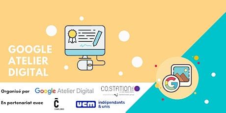 Google Atelier Digital pour les commerçants de Charleroi Métropole billets