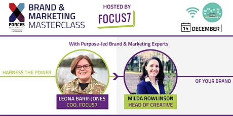 Brand and Marketing Masterclass: with Focus7 tickets