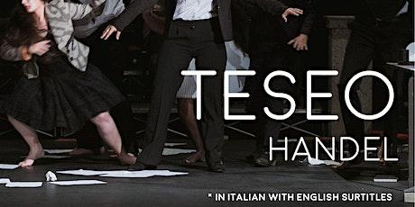 EOrQ Opera Academy | Handel • Teseo tickets