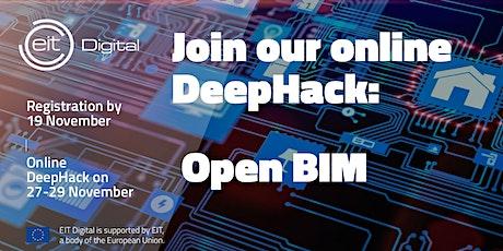 Open BIM DeepHack tickets